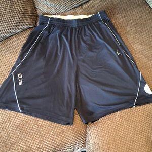 Jordan Brand North Caroline Elite shorts